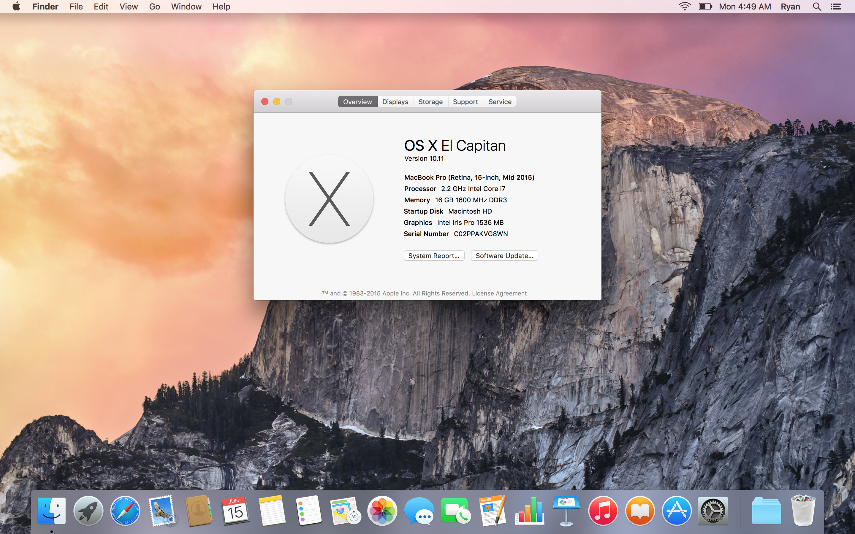 Mac Os X 10.11 free. download full Version